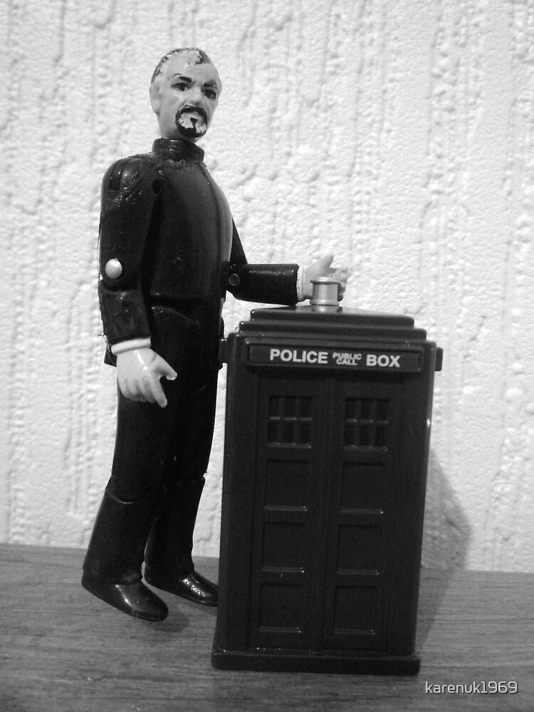 Credit Crunch TARDIS by karenuk1969