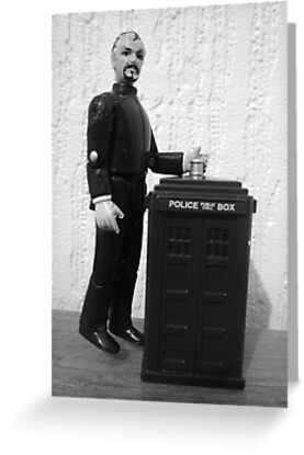 Credit Crunch TARDIS by karenuk1969