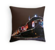 CP Holiday Train 2007 Throw Pillow