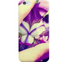 Erotic Iris iPhone Case/Skin