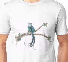 long tail bird Unisex T-Shirt