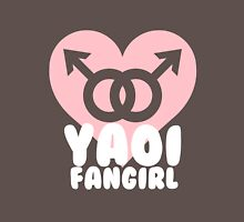 Yaoi Fangirl! Womens Fitted T-Shirt