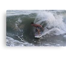 Committing Canvas Print