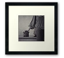 six-20. Framed Print