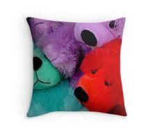 Fair Bears Throw Pillow