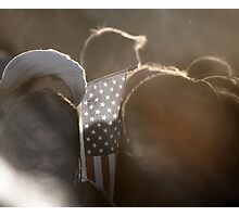 Americans Part !... GOD BLESS AMERICA Photographic Print