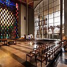 The Nave, Coventry Cathederal by Paul Woloschuk