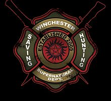 Winchester Firehouse by claygrahamart