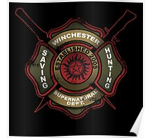 Winchester Firehouse Poster