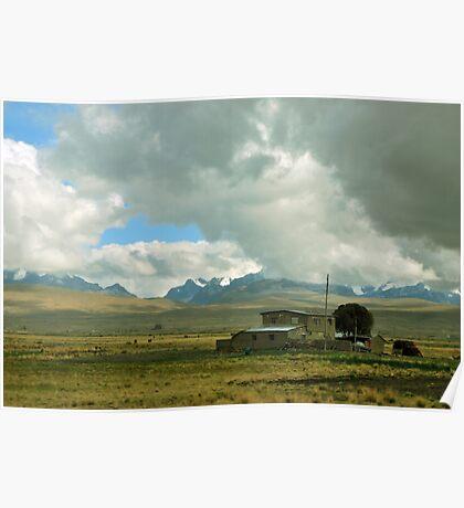 Altiplano Boliviano Poster