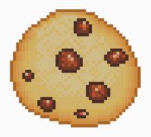 Pixel Food - Chocolate Chip Cookie by KatyM