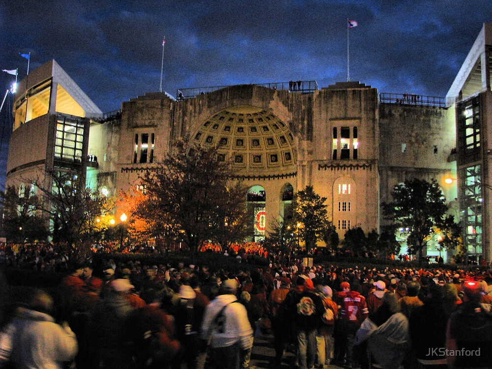 Night Game at the Horseshoe by JKStanford