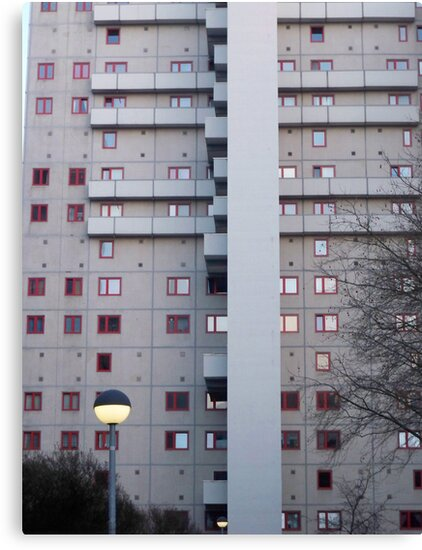 communist building east Berlin by Sivel