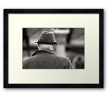 Glad to see the back of you Framed Print