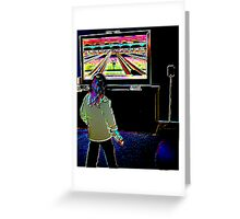 Indoor Sports Greeting Card