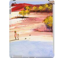 Walk with mum iPad Case/Skin