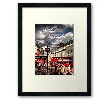 London - people Framed Print