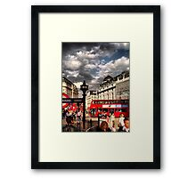 London - people Framed Print