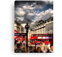 London - people Canvas Print