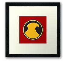 Red Robin (New 52) Logo Framed Print