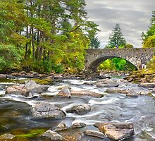 The Falls Of Dochart, Killin, Scotland. by Jim Wilson