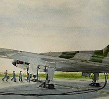 Vulcan 27 Sqdn  by Woodie