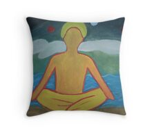 """Nirvana"" Throw Pillow"