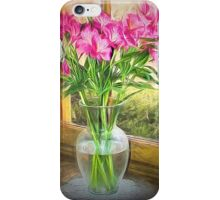 Flowers In The Window iPhone Case/Skin