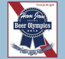 Ham Jam 2015 Beer Olympics One Piece - Short Sleeve