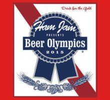 Ham Jam 2015 Beer Olympics Kids Tee
