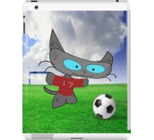 Cat Soccer Star iPad Case/Skin