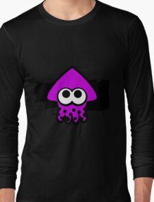 Splatoon Squid (Purple) Long Sleeve T-Shirt