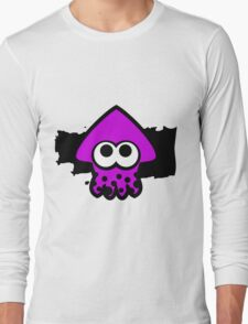 Splatoon Squid (Purple) Long Sleeve T-Shirt