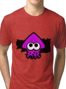 Splatoon Squid (Purple) Tri-blend T-Shirt