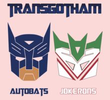 Batman and Transformers - TransGotham Kids Clothes