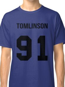 Louis Tomlinson - College style [Black] Classic T-Shirt