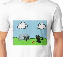 Kitten's Soccer Practice Unisex T-Shirt