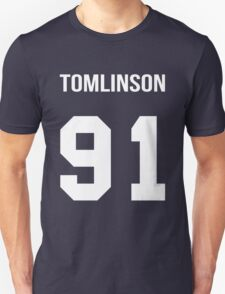 Louis Tomlinson - College Style [White] Unisex T-Shirt