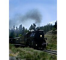Kettle Valley Train Photographic Print