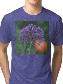 Purple Sun Burst! Tri-blend T-Shirt