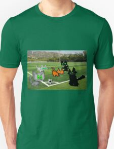 Cats Play Soccer Unisex T-Shirt
