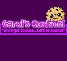 Carol's Cookies - The Walking Dead by MrKent