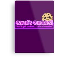 Carol's Cookies - The Walking Dead Metal Print