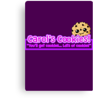 Carol's Cookies - The Walking Dead Canvas Print