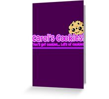 Carol's Cookies - The Walking Dead Greeting Card