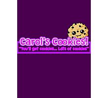 Carol's Cookies - The Walking Dead Photographic Print