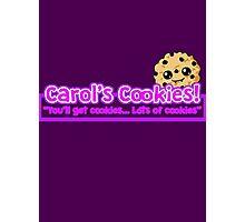 Carol's Cookies - The Walking Dead Photographic Print