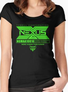 Nexus 6 Replicants Women's Fitted Scoop T-Shirt