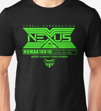 Nexus 6 Replicants Unisex T-Shirt