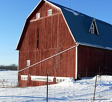Great Old Barn by Jellybean720